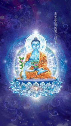 Medicine Buddha Tibet Art, Theravada Buddhism, Mahayana Buddhism, Thangka Painting, Buddha Meditation, Gautama Buddha, Buddha Art, Tibetan Buddhism, Mandala