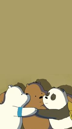Hd Cute Wallpapers, We Bare Bears Wallpapers, Panda Wallpapers, Cute Wallpaper Backgrounds, Wallpaper Iphone Cute, Cute Panda Wallpaper, Bear Wallpaper, Cute Disney Wallpaper, Ice Bear We Bare Bears