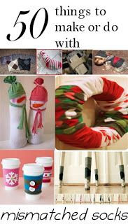 Ways to reuse your old socks