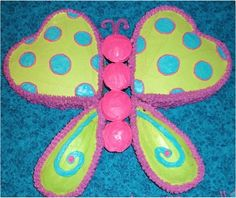 How to Make a Butterfly Cake! via TheFrugalGirls.com #butterfly #cakes