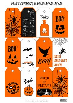 Free printable halloween tags for your treat bags free happy halloween anhnger 2 halloween tagshalloween 2014happy halloweenhalloween ideassilhouette cameofree printablegoodie bagsles tablesscentsy negle Image collections