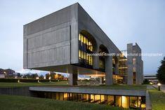 FATA Headquarters, Pianezza (Turin) Italy   Oscar Niemeyer   Leonardo Finotti Architectural Photographer