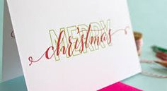 Image result for simple christmas card