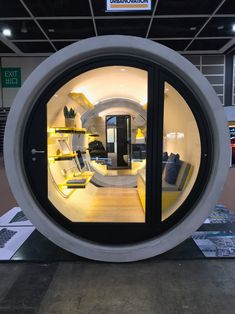 The OPod Tube House is a stackable micro apartment made from a concrete water pipe. The tiny home is an innovative solution to Hong Kong's housing crisis and was designed by James Law Cybertecture. Micro Apartment, Tiny Modular Homes, Tiny Homes, Hong Kong, Tiny Home Cost, Low Cost Housing, Building A Tiny House, Micro House, Concrete Structure