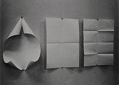 "beuys: "" Ryan Gander, The Mechanics of Form 1 (a, b, c) at Centre Pasquart, Biel "" Ryan Gander, Systems Art, Paper Folding, Elements Of Art, Land Art, Conceptual Art, Art Plastique, Color Theory, Tool Design"