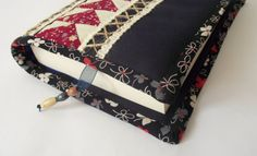 Patchwork Book Case Knitting Book Case Patchwork by duduhandmade, $18.00