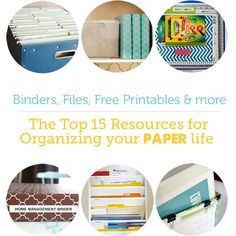 Everything you need to know to conquer those paper piles ASAP!