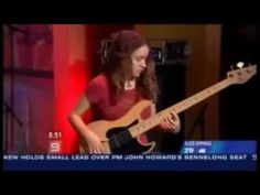 Unbeleivable talent, Jeff Becks young bass player, has now played at virtually every major show around the world. Tal Wilkenfeld 'Serendipity' live