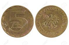 Terceiro zloty polonês (1949-1994) (x) 5 zlotych (1975-1988) O: a águia branca…