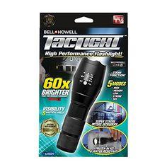 Projecteur DEL flashilght High Lumen Plus Brillants Blanc CREE W Redlight 5 Noir Small