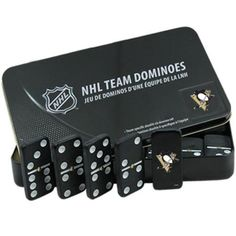 PITTSBURGH PENGUINS OFFICALLY LICENSED DOMINOES SET FROM RICO INDUSTRIES #PittsburghPenguins