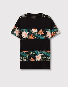T-shirt men design pull & bear 40 Ideas for 2019 Shirt Print Design, Shirt Designs, Shirt Dress Pattern, Geile T-shirts, Men Design, Urban Outfits, Shirt Outfit, Cool T Shirts, Printed Shirts