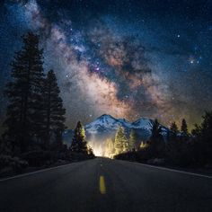 Mount Shasta, California. One of my most vivid memories was stargazing while camping up here. It was surreal.