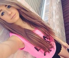 Long brown hair ♡
