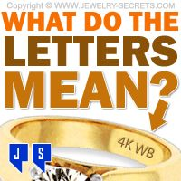 ►► WHAT DO THE LETTERS MEAN? ►► Jewelry Secrets