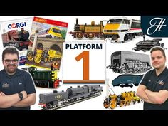 Join Jack and Dave to be in the know on the latest project updates, offers and other news from the past week. Model Trains, How To Know, Corgi, The Past, Platform, News, Youtube, Wedge, Corgis