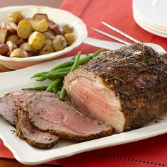 A Herbed Prime Rib will shine as the holiday dinner entree.