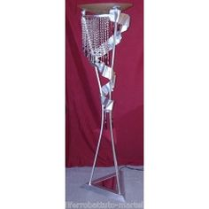 Wrought Iron Floor Lamp. Customize Realizations. 484