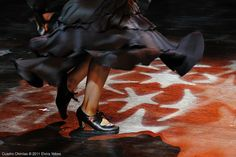 Mozaico Dance Theatre performs Cuadro - Cafe de Chinitas Jondo Flamenco Festival March 4, 2011  Photo by Elvira Yebes