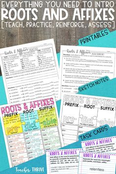 This unit includes everything you need to teach the correct order of adjectives: PowerPoint mini-lesson, practice printable, sketch notes, assessment, and bonus interactive notebook activity. Perfect for grade grammar standards. Teaching Vocabulary, Teaching Grammar, Efl Teaching, Elementary Teaching, Vocabulary Building, Upper Elementary, Interactive Notebooks Kindergarten, Order Of Adjectives, Prefixes And Suffixes