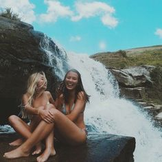 waterfalls and best friends, what could get any better than that