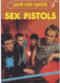 PUNK ROCK SPECIAL SEX PISTOLS POSTER MAGAZINE : sex pistols archives