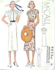 1938 Day dress
