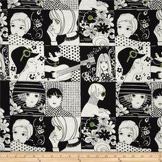 Alexander Henry Blak & White Chelsea Black & White