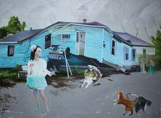 Markus Boesch - the world we give the world we get 95 cm x 130 cm Oil on Canvas www.markusboesch.net