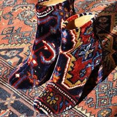 Martin Margiela carpet booties