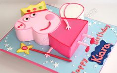 Celebrate with Cake!: Princess Peppa Pig Cake