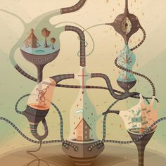 Digital Illustrations by Francisco Miranda #design #graphic