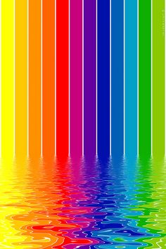 Rainbow iPhone wallpaper