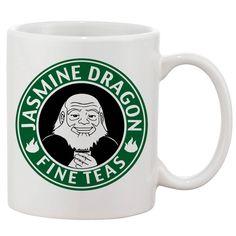 Avatar Jasmine Dragon Tea Mugs 11 oz Ceramic Design Funny Custom Gift Mugs