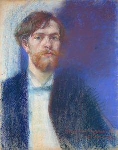 Stanisław Wyspiański, Autoportret | 1894, Muzeum Narodowe w Warszawie