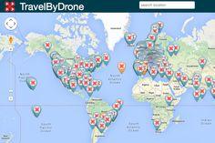Viaje pelo mundo assistindo a vídeos gravados por drones no TravelByDrone - Blue Bus