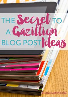 Looking for an easy way to come up with blog post ideas? This little system gives you an endless supply of ideas for your blog content... all using something you have laying around your house. Perfect way to think up content for lifestyle bloggers, beauty bloggers, or any type of bloggers. You'll be surprised how many ideas you come up with!