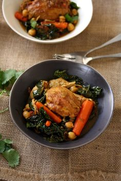 Easy Moroccan Chicke