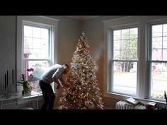 Watch @Michael Dussert Wurm, Jr. {inspiredbycharm.com} turn the All That Glitters Tree into a shining vision of vintage Christmas cheer!