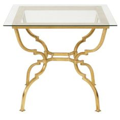 Safavieh Couture Novalei Side Table Novalei Side Table: Metal side table Features a glass top Measurements: SQ. x H Material: Metal and glass Care: Wipe with a damp cloth Brand: Safavieh Couture Origin: Imported Mirrored End Table, Metal End Tables, Glass End Tables, End Table Sets, End Tables With Storage, Side Tables, Contemporary End Tables, Chair Side Table, Couture