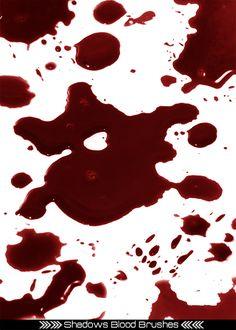 Shad0ws Blood Brush Set by JamesRushforth.deviantart.com on @deviantART