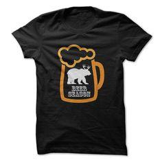 Beer Season Funny Hunting T-Shirts, Hoodies. CHECK PRICE ==► https://www.sunfrog.com/Hunting/Beer-Season-Funny-Hunting-Shirt-.html?id=41382