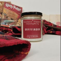 gryffindor pride aesthetic harry potter candles