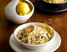 Meatless Monday: Lemony Linguine