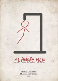 12 Angry Men by Reginald Rose. A play concerning the deliberations of a jury during a homicide trial. 11 vote guilty whilst 1 dissents and challenges the notion of prejudice and perception.