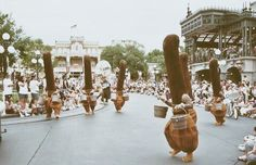 Fantasia Brooms Marching in Parade