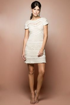Off Queen Crochet Dress - Vanessa Montoro USA - vanessamontorolojausa                                                                                                                                                                                 Más