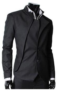 Modern assymetric suit