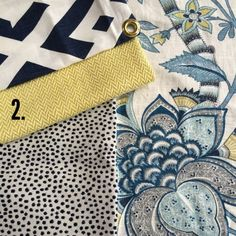 Article on coordinating fabrics