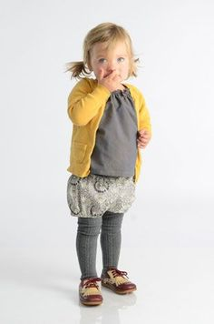 Comfortable kids clothes - Cute little girl